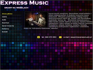 Express Music gra na weselach